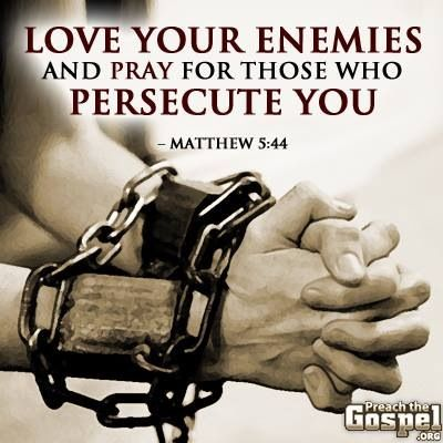 love your enemies sermon notes from 4 10 2016