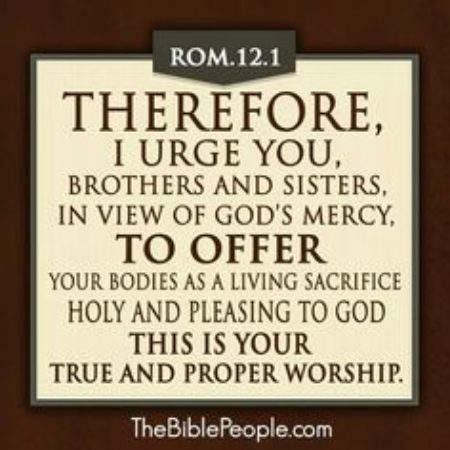 The Meaning of Self-Sacrifice (pm) - Seagoville Church of Christ